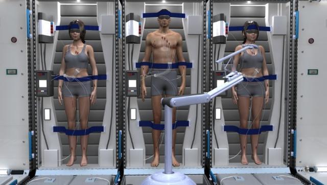 飞船上的宇航员生活舱将被低温休眠仓所取代