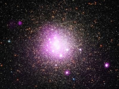 钱德拉X射线天文台拍摄到最古老星团NGC 6388照片