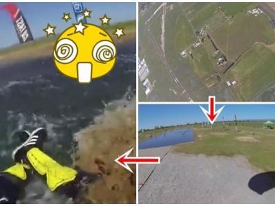 美国男子玩跳伞从千呎堕下奇迹生还