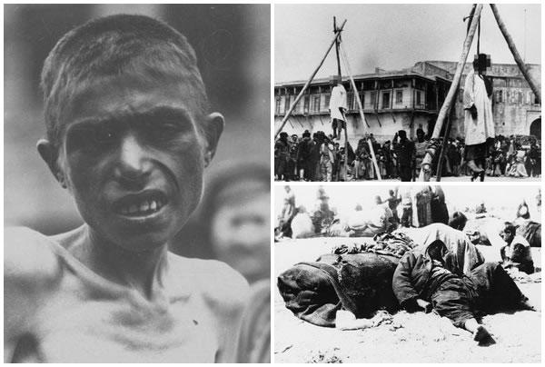 当年有逾150万亚美尼亚人惨被杀害