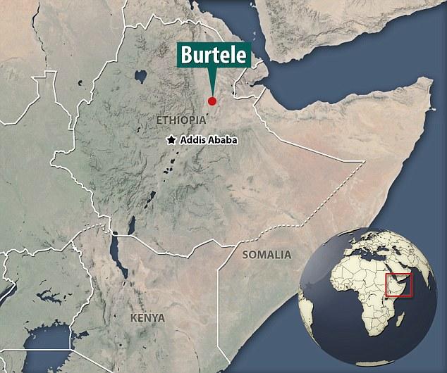 这块骨骼化石挖掘发现于埃塞俄比亚中部阿尔法布尔特勒地区,该地点距离发现露西化石的地点不足35公里。