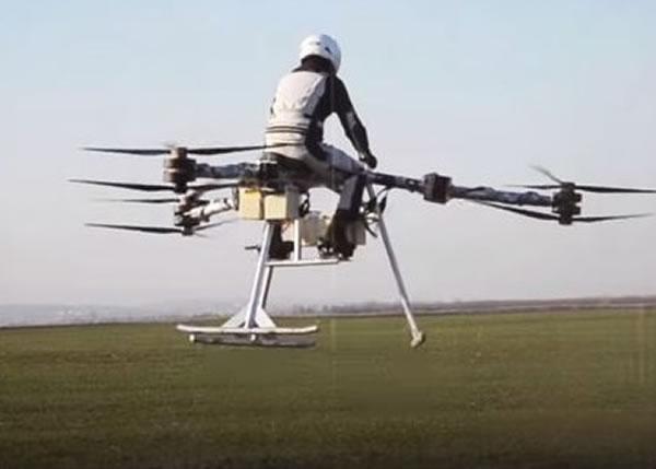 Flike有望将星战电影中的个人飞行器成真