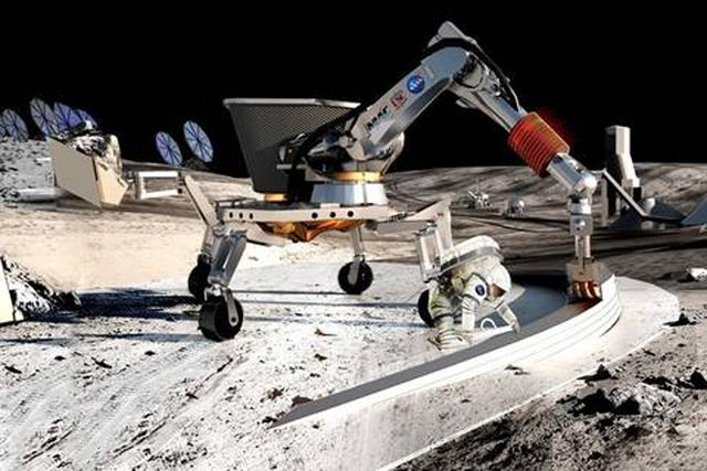 美国宇航局科学家认为一旦可从月球上提取资源,那不仅可满足月球基地的需要,月球也能够作为星际飞行的中转站