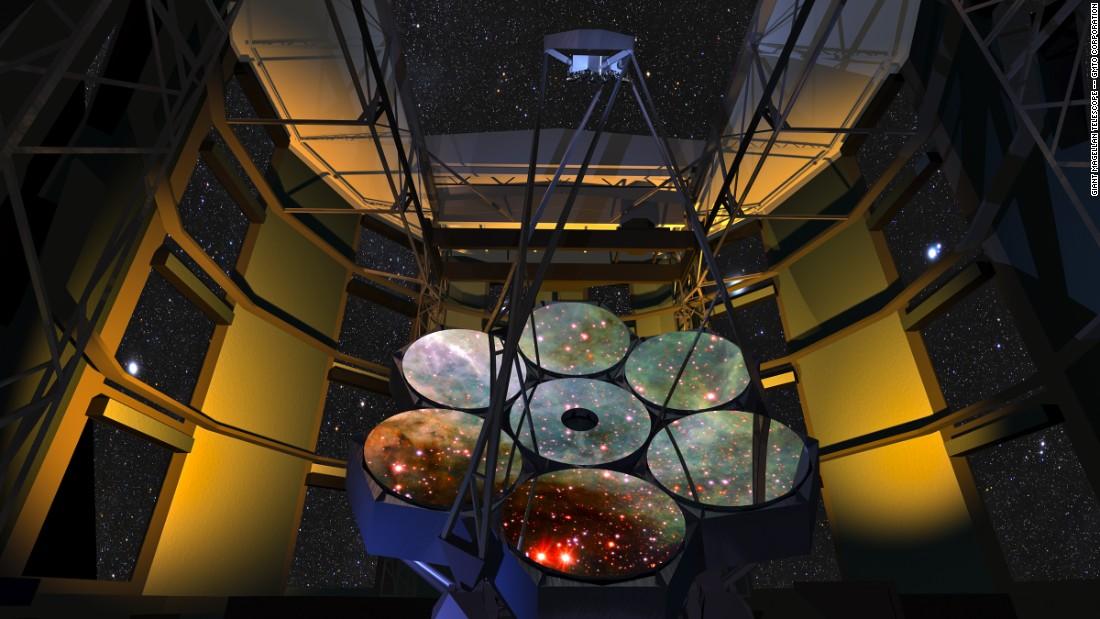 天文学家计划安装世界上最大的光学望远镜——巨型麦哲伦望远镜(GMT)
