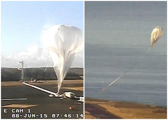NASA尝试把气球射上火星