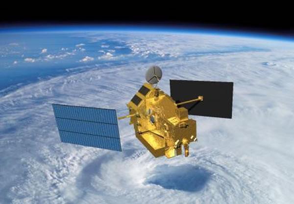 美日合作研发的热带降雨观测卫星(TRMM)预计将于16日结束任务坠入地球大气层
