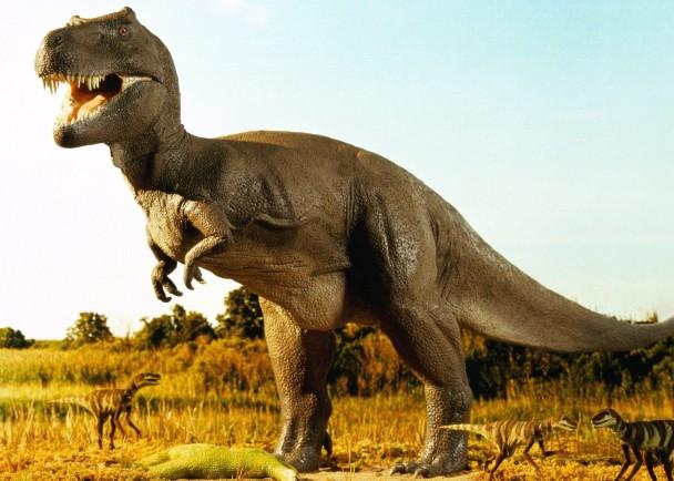 恐龙在生物大灭绝期间绝种