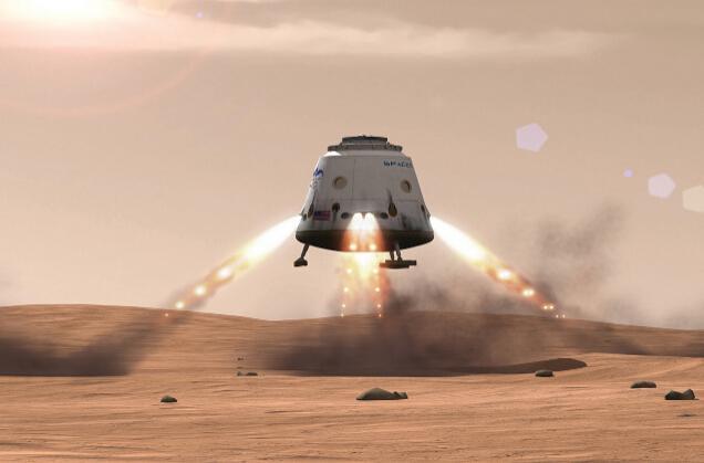 未来的某一天,人类将登陆火星