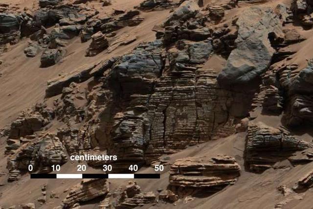 美国宇航局证实数亿年前的火星拥有海洋,最深处可达到数百米以上