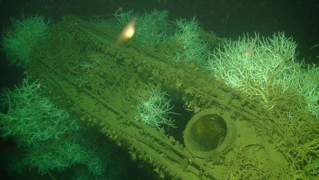 萨拉森号沉于海底72年