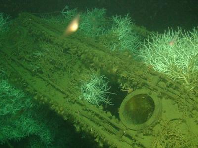 地中海发现沉没海底72年的二战英国S级潜艇萨拉森号(HMS Saracen)