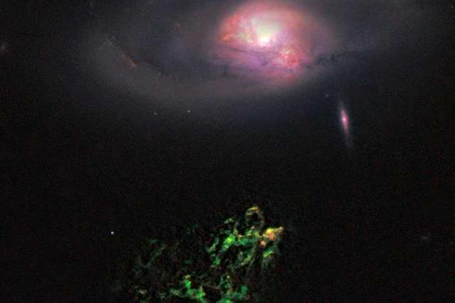 天文学家发现活动星系核更像是一盏闪烁的灯,开启与关闭可能长达数百万年左右