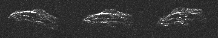 2011 UW-158小行星真实映像