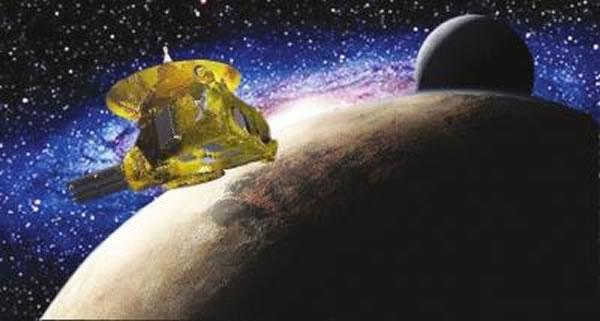 """一年后""""新视野""""号探测器将飞出太阳系"""