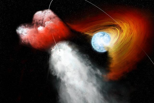 双星系统PSR B1259-63/LS 2883:脉冲星运行的速度非常快