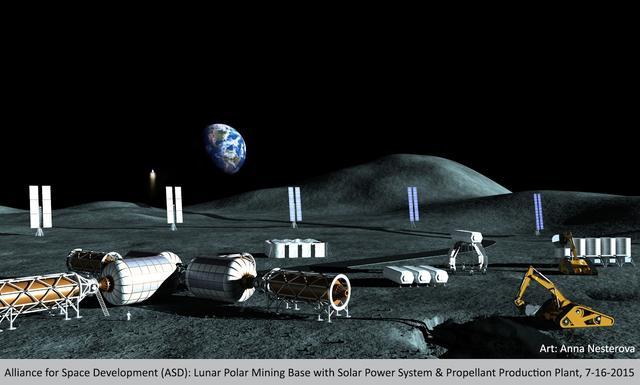 美国宇航局将目标转向月球 试图将其作为前往火星的中继站