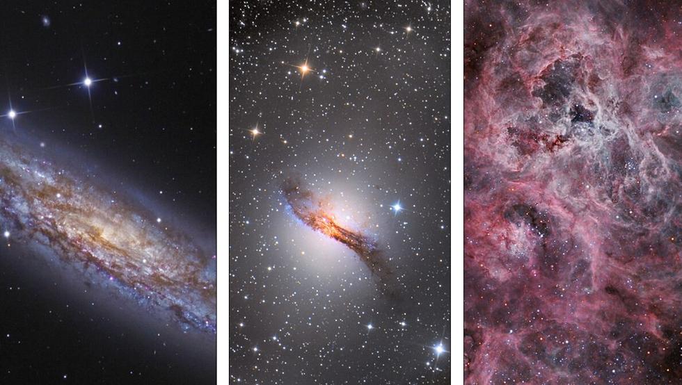 摄影师Marcus Davies、Paul Hasese 和Steven Mohr作品入围深空类奖项