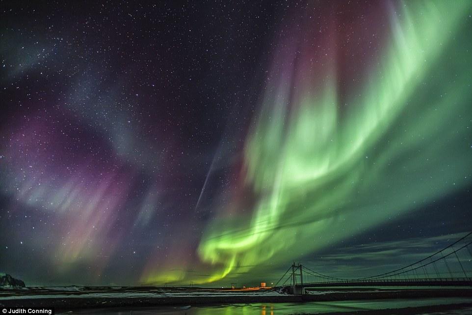 摄影师Judith Conning 作品同样入围夜景天文类别