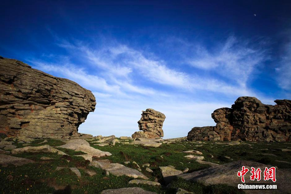 7月28日,新疆喀纳斯景区管委会在乌鲁木齐召开新闻发布会,对外公布在距离喀纳斯湖出水口约18公里西南方向发现古地中海海底遗迹。图为古地中海海底遗迹。雷东翔 摄