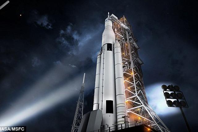 如果有了SLS火箭,我们就可以快速抵达探索目标,加速我们的太阳系探索之旅