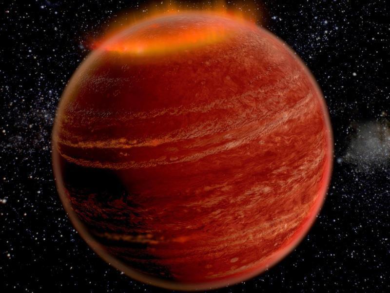 """国际研究小组在天琴座棕矮星""""LSR J1835""""上发现极光"""