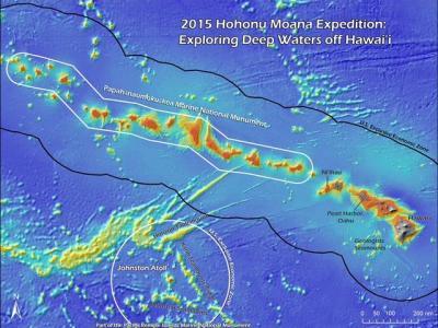 美国遥控潜水机器人Okeanos探测器将考察太平洋深海生态系统和地质状况