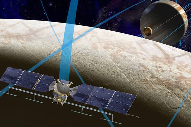 木卫二被认为是太阳系中除了地球之外最有可能存在生命的星球,科学家认为这里存在低级的微生物