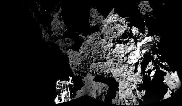 彗星往太阳方向飞去