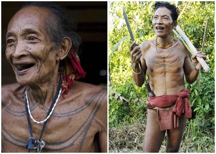 族人喜欢以凿子磨尖利牙,以吸引异性。