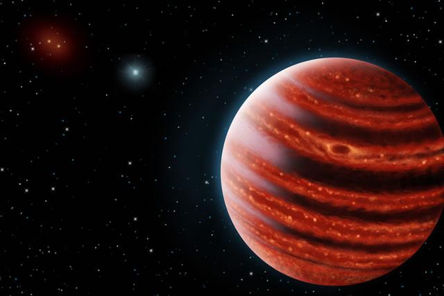 51波江座b的温度也是最冷的,仅有800摄氏度,大气中存在甲烷的信号