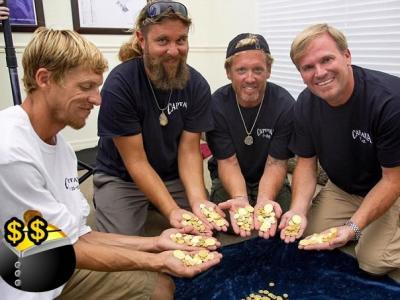 美国打捞公司在佛罗里达州维多比奇海滩发现11艘18世纪沉船