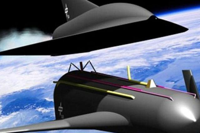 这款飞行器能够在八分钟之内抵达50英里的高度,接近地球大气的上层,之后火箭助推装置分离