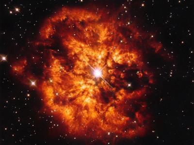 M1-67星云中的闪耀恒星Hen 2-427