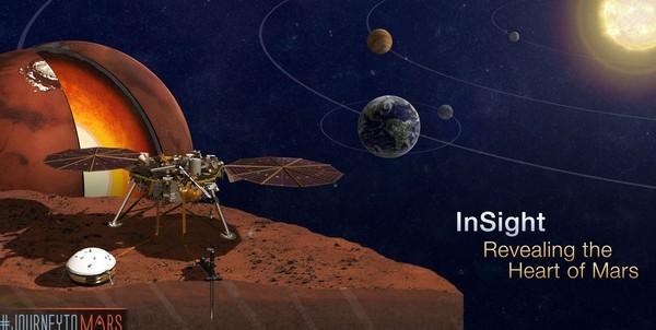 想名留火星吗?赶紧登录美国NASA官方网站登记 明年将随洞察号探测器赴火星