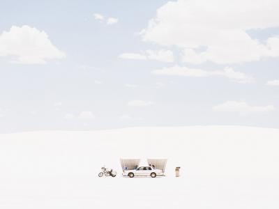 美国新墨西哥州的白沙国家公园