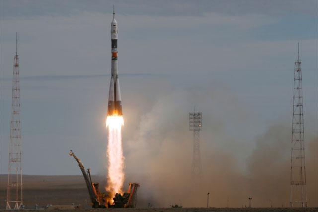 联盟TMA-18M飞船将三名宇航员送入国际空间站 丹麦人首次进入太空