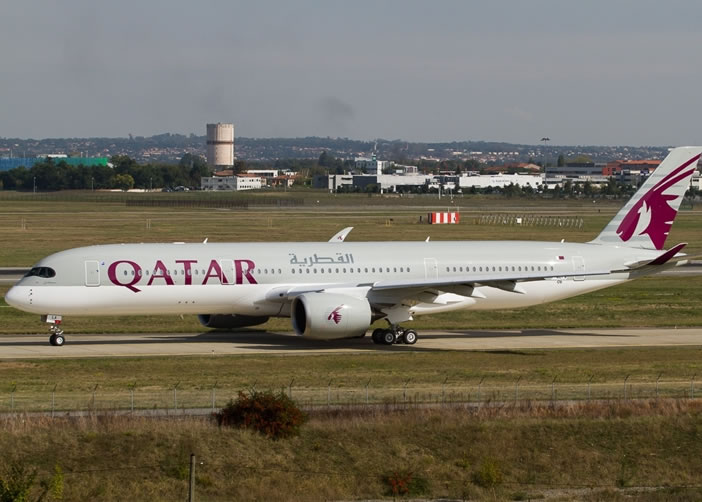 波音777X的主要对手是图中的空客A350