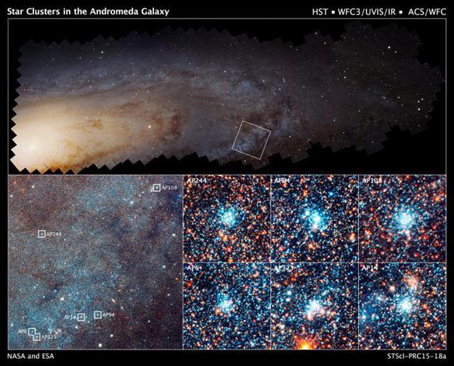 全色哈勃仙女座宝藏计划,旨在对仙女座星系1.17亿颗恒星进行观测