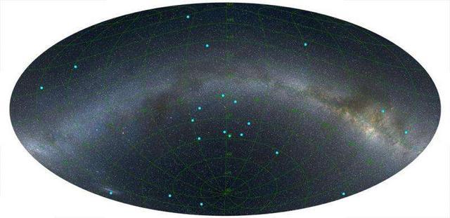 科学家认为宇宙中的大结构可能不超过12亿光年,这是理论上的极限