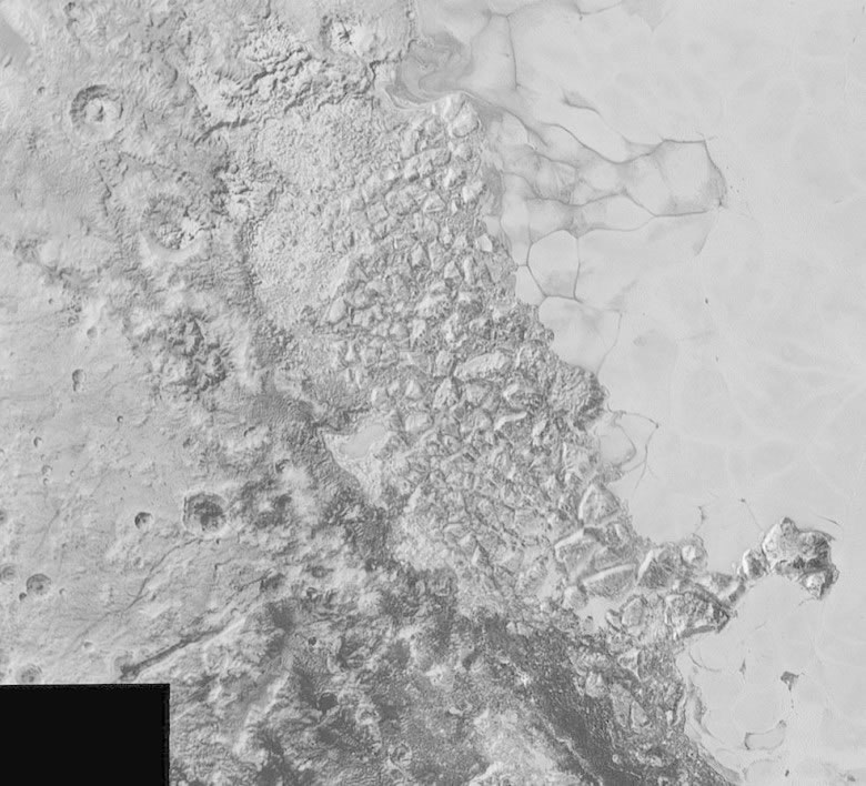 史普尼克平原旁边位置的地形复杂