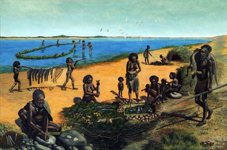 澳大利亚史前人口在25000年前突然开始减少