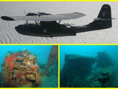 澳洲大堡礁海域发现二战皇家空军卡特琳娜型战机A24-2511