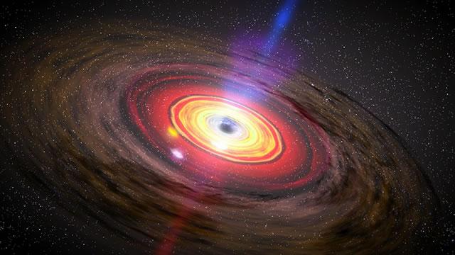 天文学家发现星系SAGE0536AGN中央存在质量达到3.5亿个太阳的超级黑洞
