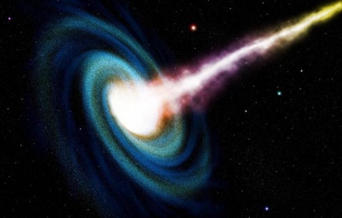 """""""SAGE0536AGN""""星系中央找到一个超大型黑洞"""