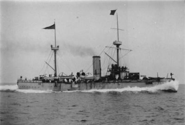 北洋舰队的致远舰曾在甲午战争出战
