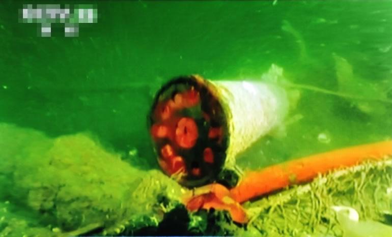 考古人员于黄海发现致远舰遗骇