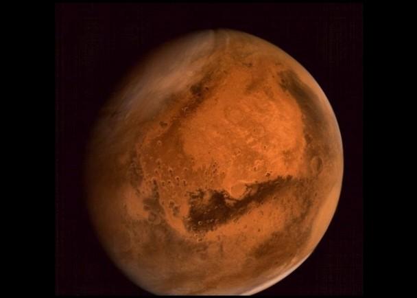 火星飞船早前拍下完整的火星照片
