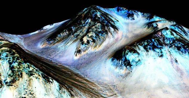 火星发现液态水有三大意义:显示可能有生命