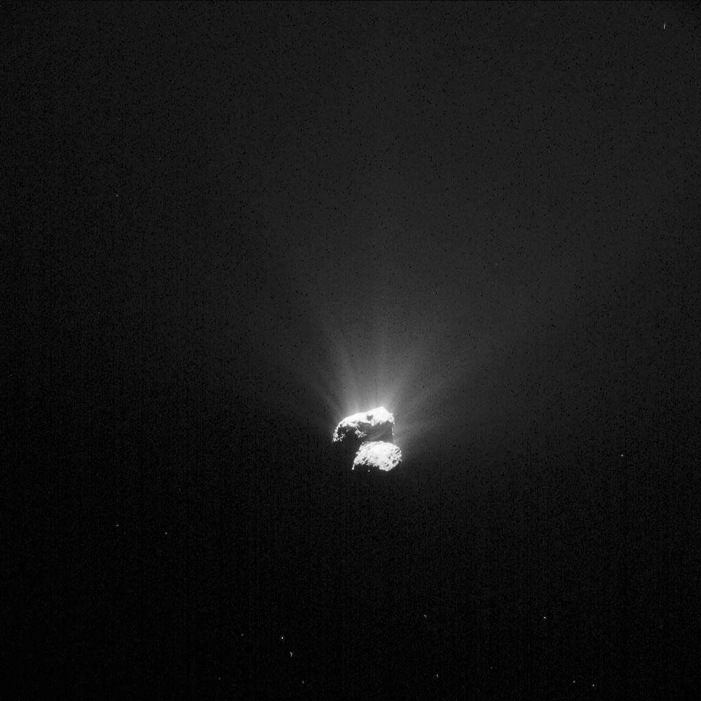 67P/丘留莫夫-格拉西缅科彗星或由两个独立的天体融合而成