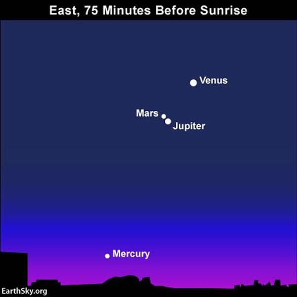 2015年10月9日金星合月
